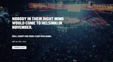 핀란드 헬싱키, '슬러시(Slush)'를 가다