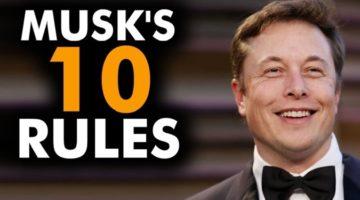엘론 머스크의 10가지 창업 성공 법칙
