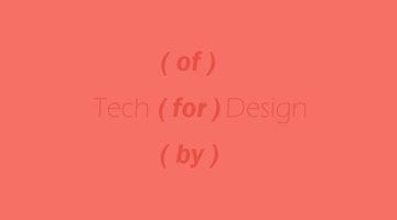 테크와 디자인 사이에 들어갈 단어는?