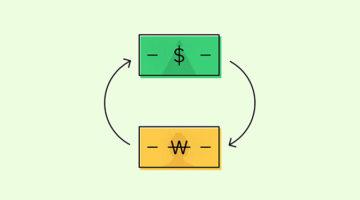 달러와 원화 빨리 변환하기