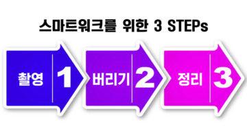 스마트워크를 위한 문서·메모 정리 3 STEPs