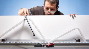 3만 원짜리 미니어처로 5,000만 원 자동차 광고 사진을 찍은 사진가