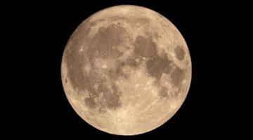 달이 너무 밝으면 별도 은하수도 빛을 잃는다