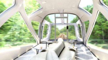 일본, 새로운 초호화 열차를 운행하다