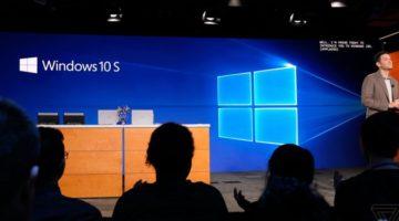 MS의 Windows 10 S, 교육용 시장을 노린 저가형 OS인가?