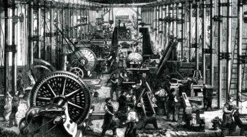 산업혁명 당시 영국의 임금이 상승하고 일자리가 늘어난 이유는?