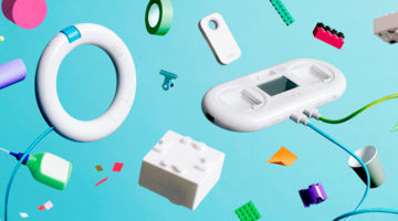 아이들을 위한 로봇 장난감 '소니 토이오'