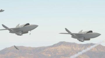 저가형 공격 무인기 'XQ-222 발키리'와 'UTAP-22 마코'