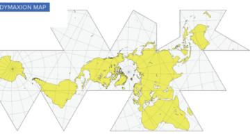 우리가 사용하고 있는 지도의 문제점