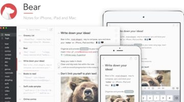 요즘 뜨고 있는 메모 앱 Bear 사용기
