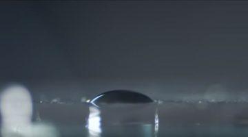 물방울을 이용한 '액체 렌즈'로 사진을 찍을 수 있을까?