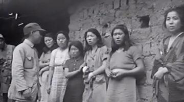 묻힐 뻔했던 세계 최초 '한국인 위안부' 영상