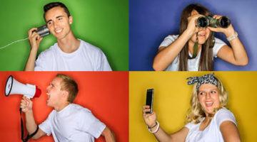 페이스북 사용자의 4가지 타입