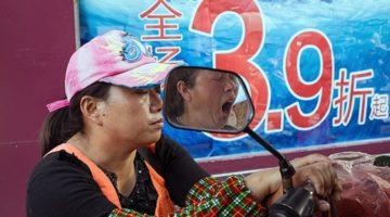 유쾌하게 길거리를 포착하다, 중국의 사진가 Tao Liu