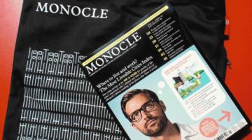 글로벌 매거진 '모노클'은 어떻게 종이 매체의 건재함을 알렸나