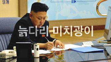 """김정은 """"늙다리 미치광이"""" 트윗 모음"""
