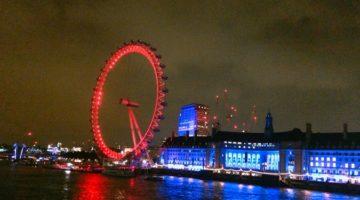 런던에서의 마지막 크림티