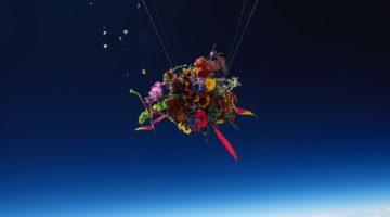 한 아티스트가 '우주에서 꽃 피우기'에 도전하다