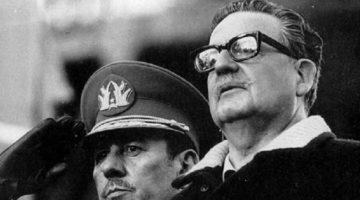 1973년 9월, 칠레 아옌데 사회주의 정권 무너지다