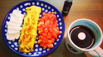 휴일 아침엔 우아한 '토마토 듬뿍 듬뿍 오믈렛'