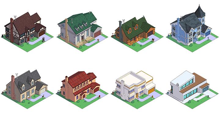 심슨 가족의 집으로 보는 미국의 인기 주택건축 양식 8가지