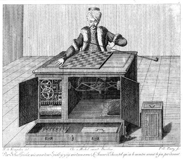 나폴레옹과 인공지능의 체스 대결? '메커니컬 터크' 이야기