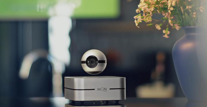 공중부양하는 스마트 홈 CCTV 카메라