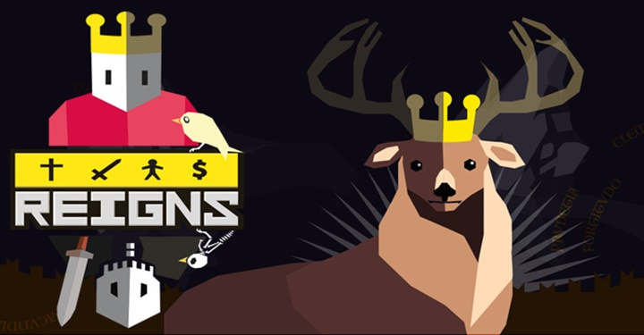 「Reigns」: 인생은 선택의 연속이라지만 결국은 다 죽는다