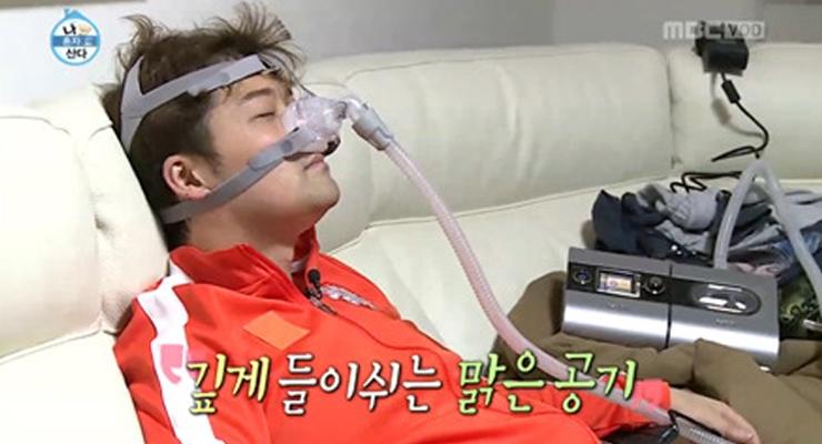 코골이 심한 사람을 위한 양압기 사용기