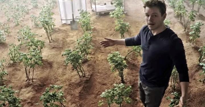 지렁이는 화성에서 살 수 있다고?