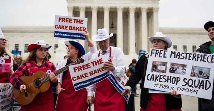 웨딩케이크를 둘러싼 미국의 동성애 전쟁