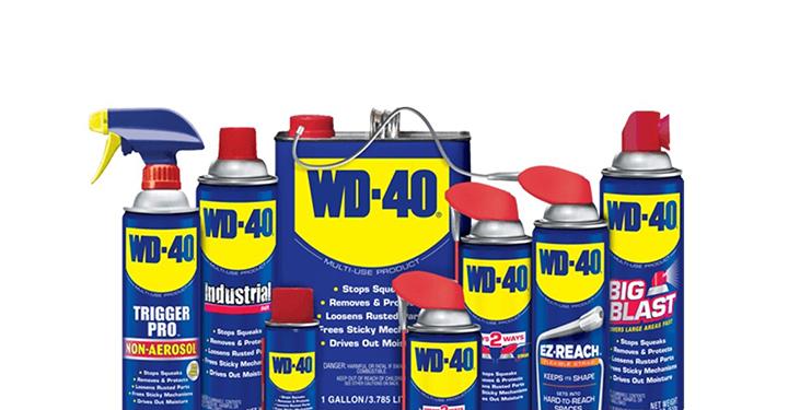 기계계의 빨간약, 만능제품 WD-40의 8가지 용도