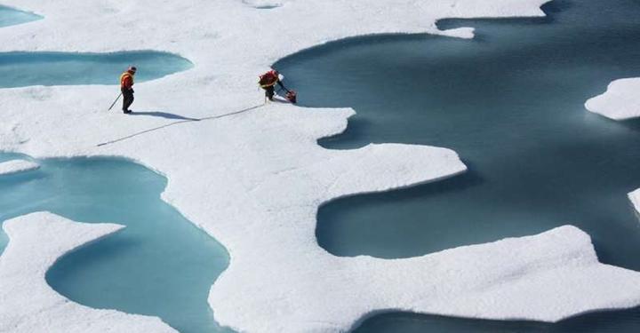 겨울철 이상 한파가 북극해빙을 더 많이 녹게 했다?