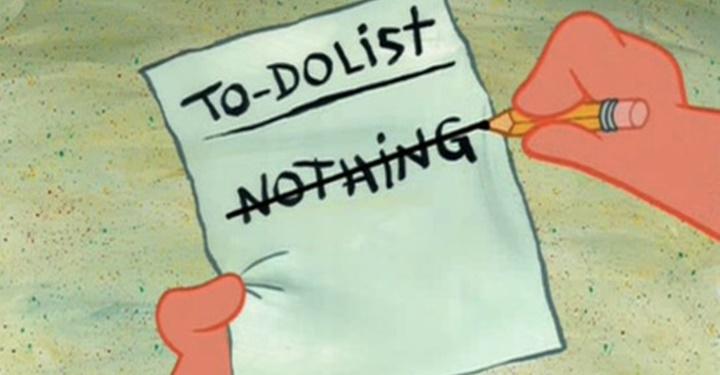 오늘은 무슨 일을 안 해볼까?