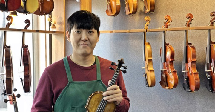 그 남자의 공구: 38세 현악기 제작자 김주표
