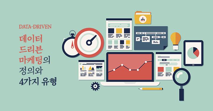 데이터드리븐 마케팅의 정의와 4가지 유형