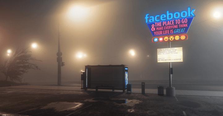 """""""Antisocial"""", 길거리 광고판을 통해 SNS의 어두운 면을 조명하다"""