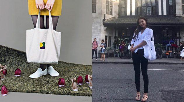 보육원 아이들에게 미술 시간을 선물하는 브랜드: f(x) 루나가 애용하는 착한 가방 이야기
