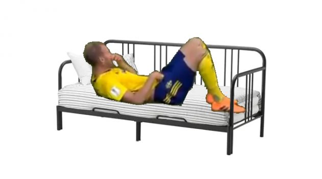 한국 vs. 스웨덴(feat. 침대축구) 트윗 모음