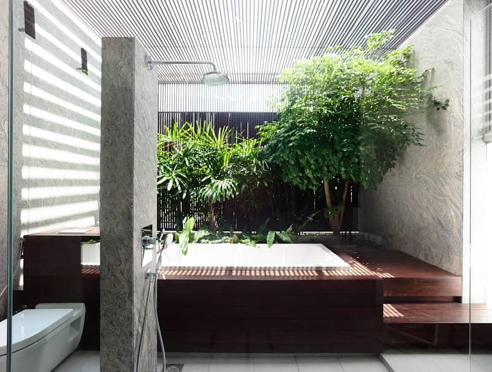 HYLA Architects의 스파