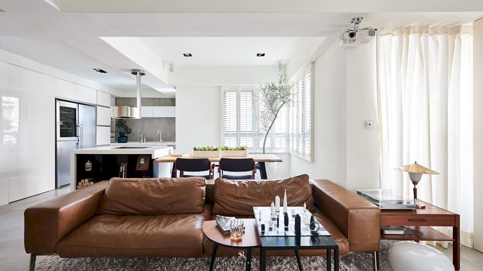 理絲室內設計有限公司 Ris Interior Design Co., Ltd.의 거실