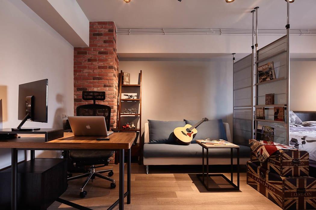 耀昀創意設計有限公司/Alfonso Ideas의 서재 & 사무실