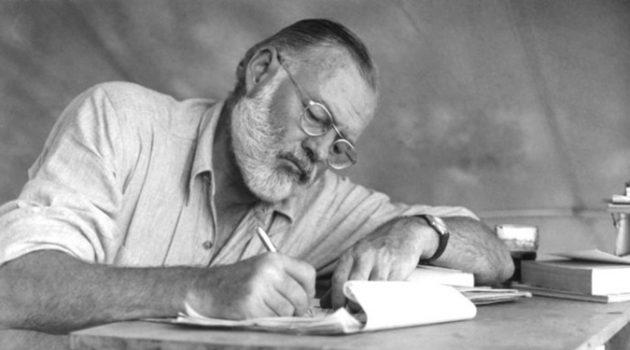 헤밍웨이를 작가로 만든 문학 역사상 가장 유명한 실수