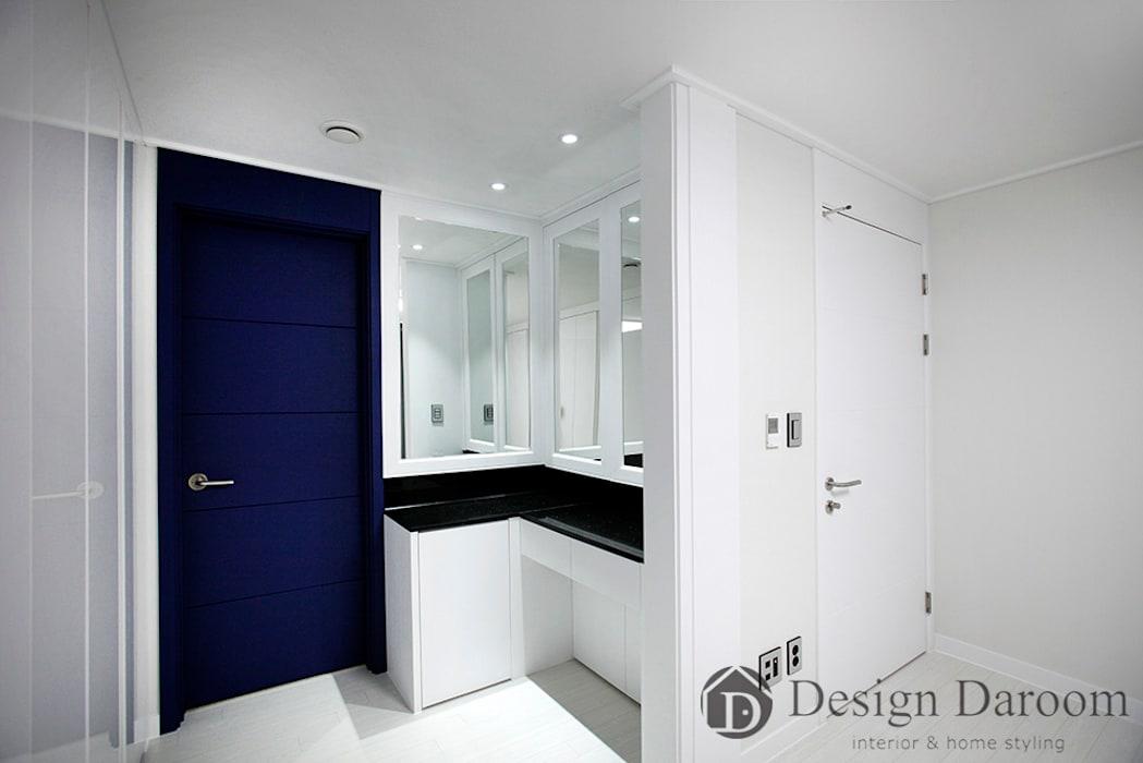 수유 두산위브 아파트 34py 안방: Design Daroom 디자인다룸의 방