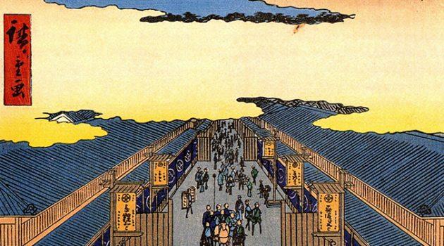 일본 최초 백화점 이야기