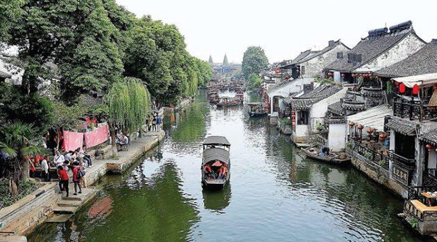 중국의 불가사의로 불리는 곳, 신비로운 '상하이 수향마을' 코스 6
