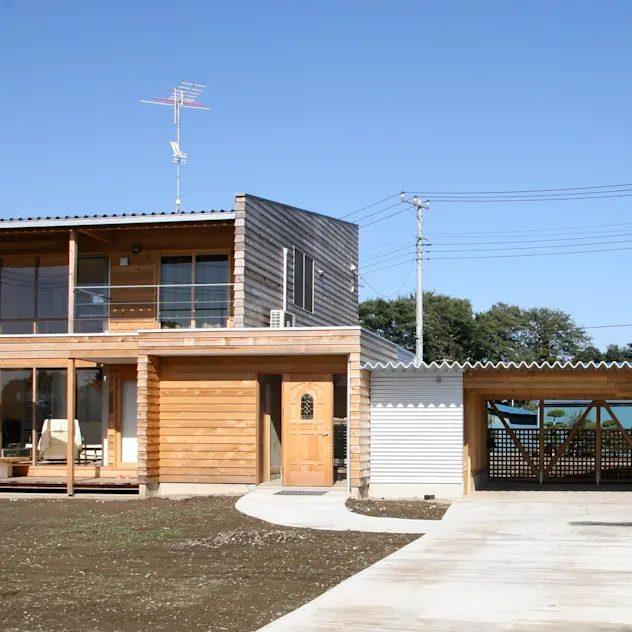 株式会社高野設計工房의 목조 주택
