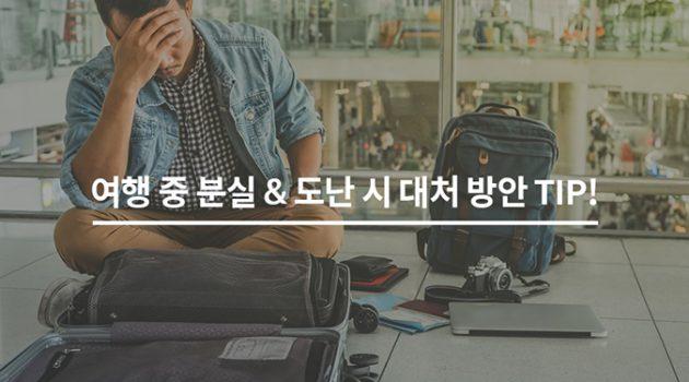 여행 중 분실&도난 시 대처 방안 TIP