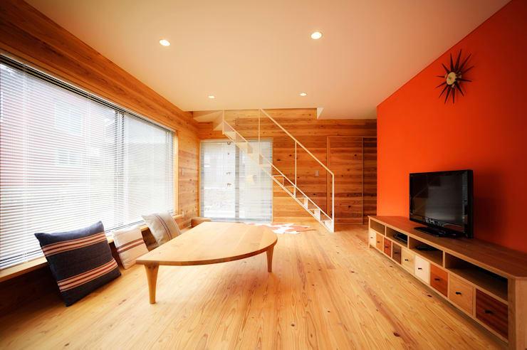 長井建築設計室의 거실