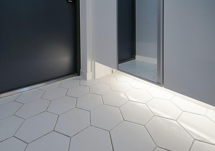 모던 인더스트리얼, 파주 빌라 프로젝트: 디자인 아버의 바닥